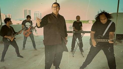 Aam Tateel's debut album Khudsar is a rebellion weighed down