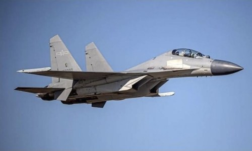 Chinese jets fly near Taiwan to deter it from trade deal