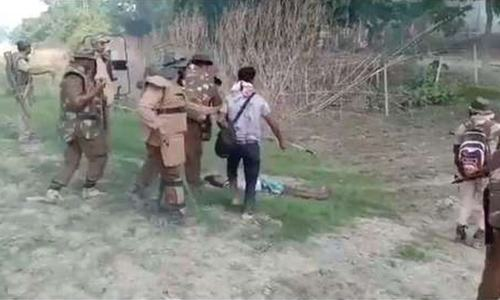 Video of police, journalist beating man in India's Assam state stirs outcry
