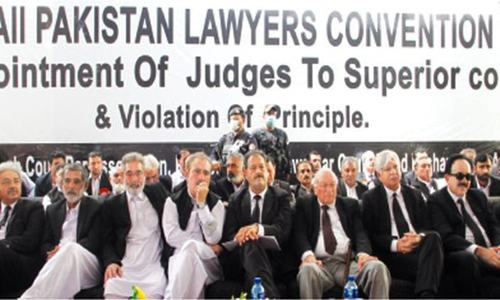 Lawyers moot backs seniority criterion for judges' elevation