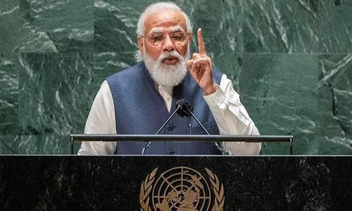 Modi raises concerns about Pakistan, China at UN