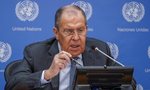 Russia in sync with China, US, Pakistan on Taliban, says foreign minister