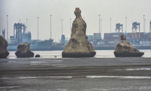 Karachi's 'China port' opens again to public