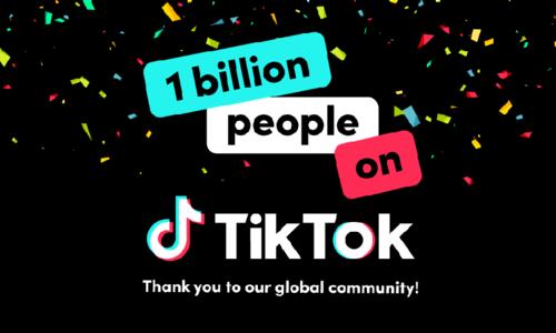 ایک ارب سے زیادہ افراد ٹک ٹاک صارفین بن گئے