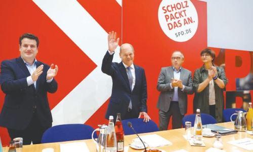 جرمنی: سوشل ڈیموکریٹس کی انتخابات میں کامیابی، مرکل کی حکومت کا اختتام