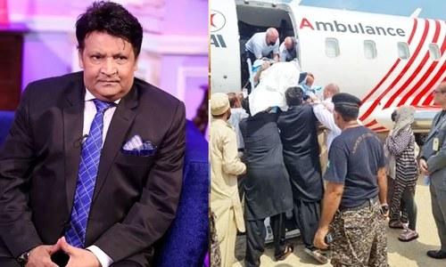 عمر شریف علاج کے لیے بذریعہ ایئر ایمبولینس امریکا روانہ
