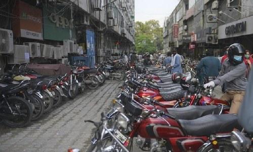 ہونڈا موٹر سائیکلز کی قیمتوں میں ایک مرتبہ پھر اضافہ