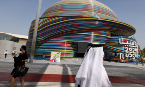 In pictures: Extravagant Dubai Expo finally opens after years of planning