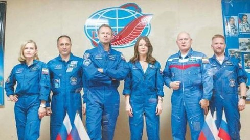 Russians to shoot scenes for film during space mission