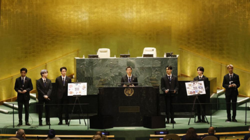 BTS campaign with UN raises millions of dollars — and tweets
