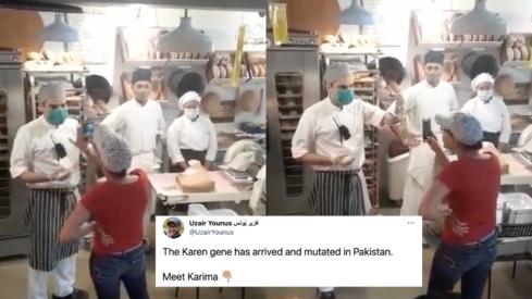 Netizens rejoice as Karachi's Test Kitchen by Okra emerges victorious in a battle against a desi Karen
