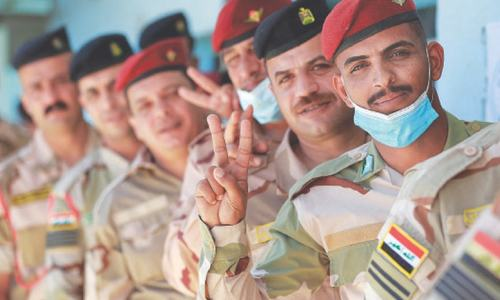 Special voting arranged in Iraq for soldiers, patients and the displaced