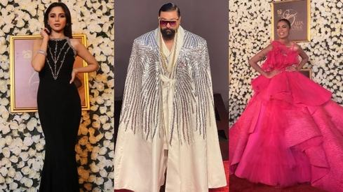 Some of our favourite looks from the Lux Style Awards 2021 red carpet
