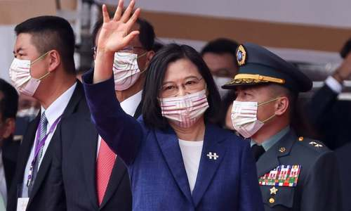 Taiwan's leader says island will not bow to China