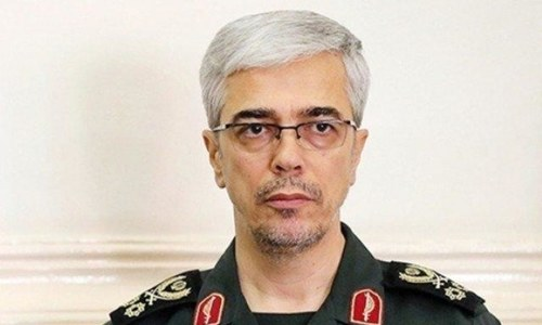 Iranian armed forces chief due in Islamabad today
