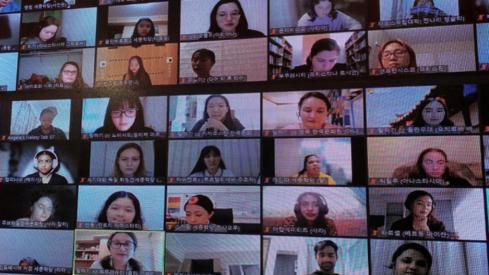 Netflix hit show Squid Game spurs interest in learning Korean