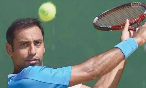 Aqeel, Abid advance at National Open Tennis