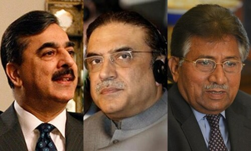 LHC disposes 'infructuous' pleas against Gilani, Zardari, Musharraf