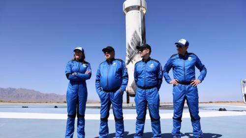 Star Trek's William Shatner becomes world's oldest space traveller