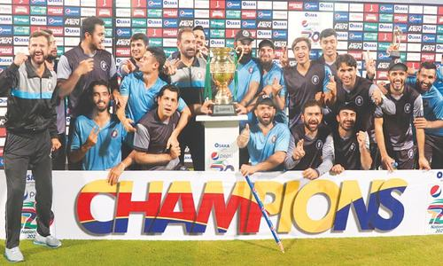 Iftikhar to the fore again as KP keep National T20 title