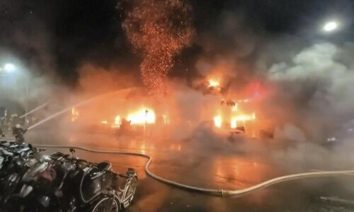 Blaze at Taiwan building leaves 46 dead