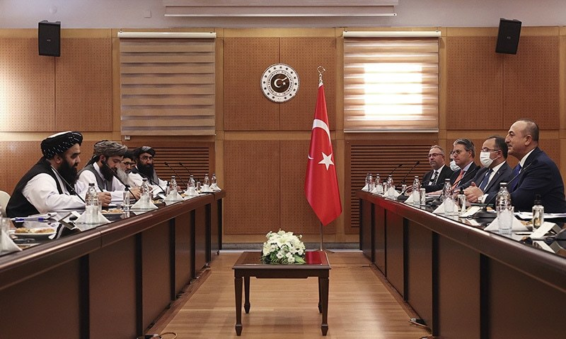 Turkey ready to help, but will not recognise Taliban