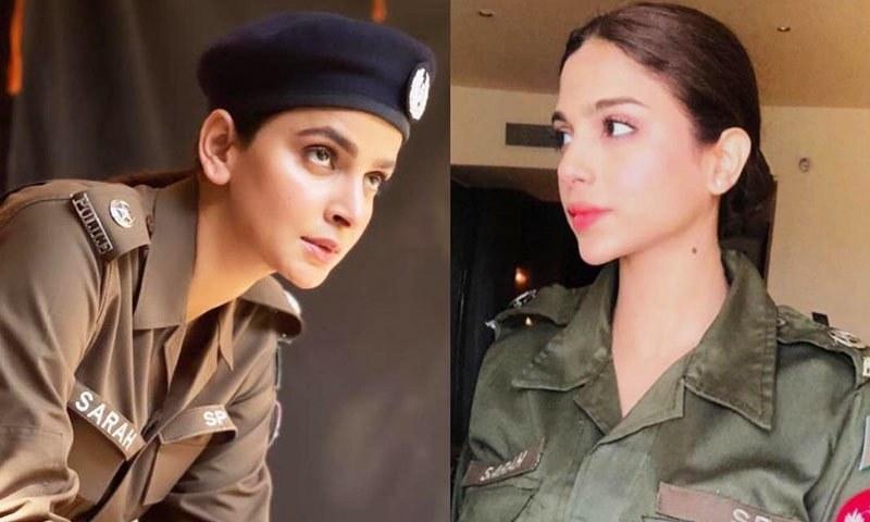 سونیا حسین اور صبا قمر پولیس افسر بننے کو تیار