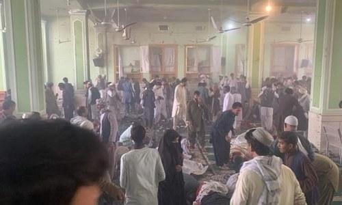 افغانستان: قندھار کی امام بارگاہ میں دھماکا، 32 افراد جاں بحق