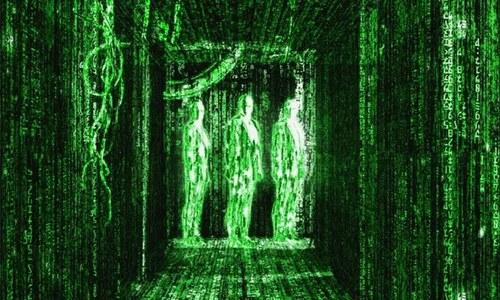 مشہور فلم دی میٹرکس کی اس 'سبز بارش' کا اصل راز جانتے ہیں؟
