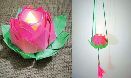 Wonder Craft: Lotus flower