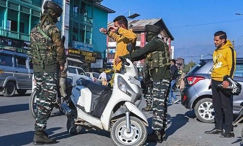 مقبوضہ کشمیر میں کشیدگی میں اضافہ، حملے میں 2 بھارتی فوجی ہلاک