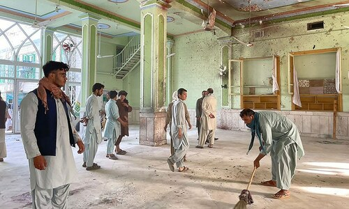 IS claims deadly suicide attack on Shia mosque in Afghanistan's Kandahar