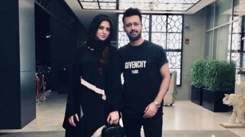 Sara Bharwana's takeover of husband Atif Aslam's Instagram account is the cutest thing you'll see today