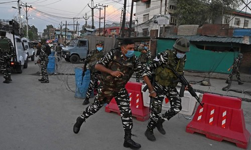 India fears Taliban fallout in occupied Kashmir