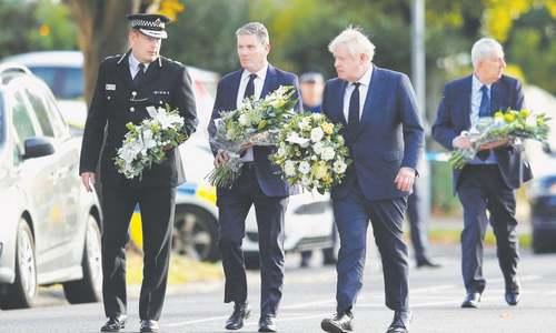 Fatal attack on British MP termed terrorist incident