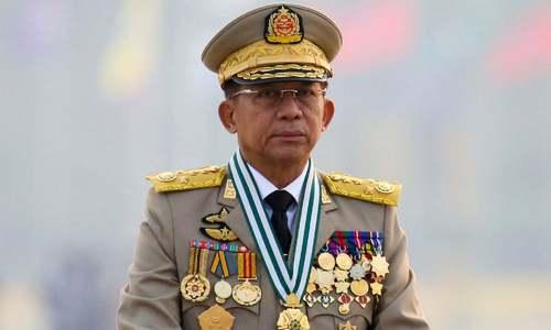 'آسیان سربراہی اجلاس میں میانمار فوجی حکومت کے سربراہ کو مدعو نہیں کیا جائےگا'