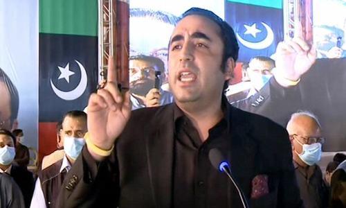 وزیراعظم عمران، خان فوج اور آئی ایس آئی کو ٹائیگر فورس بنانا چاہتے ہیں، بلاول