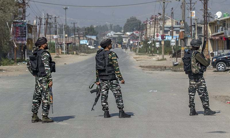 India to move some migrant workers in occupied Kashmir to army camps after killings