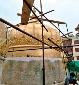 Conservation of Sonehri Mosque in full swing