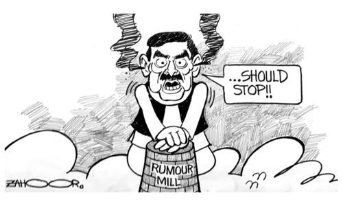Cartoon: 18 October, 2021
