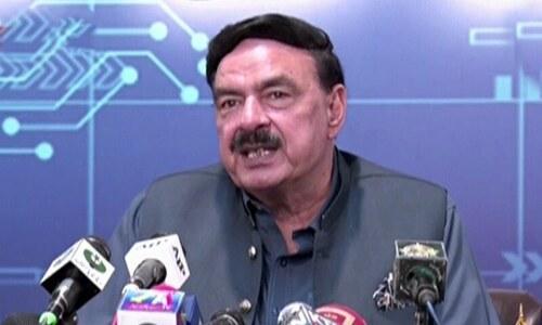 Sheikh Rashid announces 3-month relief in prison sentences on account of Eid-i-Miladun Nabi