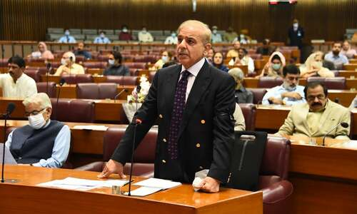 In NA session, Shehbaz berates PM Imran, PTI govt over 'backbreaking inflation'