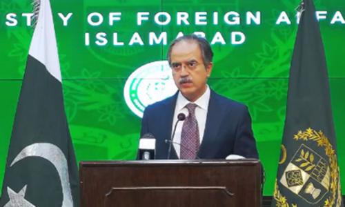 بھارتی پروپیگنڈے کا مقصد کشمیریوں کی جدوجہد کو دہشت گردی کا نام دے کر بدنام کرنا ہے، دفتر خارجہ