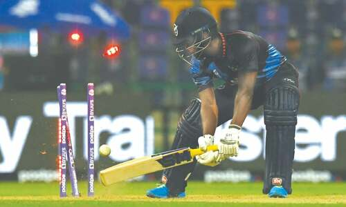 Namibia blown away by SL on T20 World Cup debut