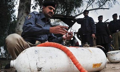 Bomb defused in Peshawar