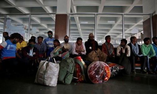 Migrant workers being moved to safe places in occupied Kashmir