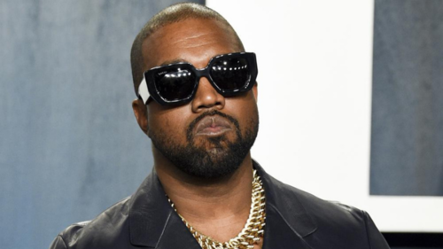 American rapper formerly known as Kanye West is now just Ye