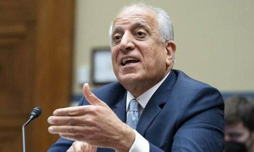افغانستان کیلئے امریکا کے خصوصی ایلچی زلمے خلیل زاد مستعفی