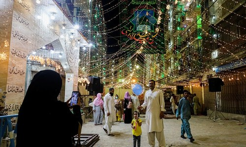 President Alvi urges nation to follow in footsteps of Holy Prophet as country celebrates Eid Miladun Nabi