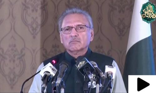 'پاکستان میں تبدیلی کا بنیادی ستون نبیﷺ کی بنائی ہوئی مسجد ہے'